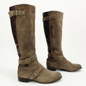 UGG Cydnee Leather Riding Boot